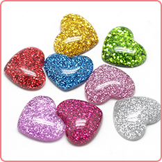 Heart Cabochons