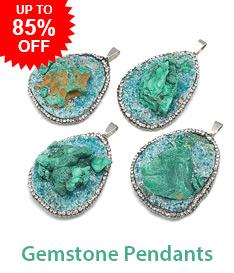 Gemstone Pendants Up to 85% OFF