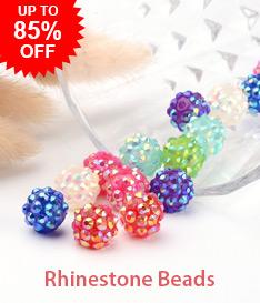 Rhinestone Beads Up to 85% OFF