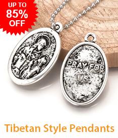 Tibetan Style Pendants Up to 85% OFF
