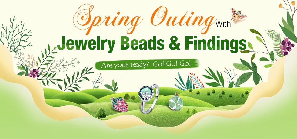 Spring Outing With Jewelry Beads & Findings