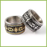Vintage 316 Stainless Steel Finger Rings