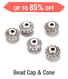 Bead Cap & Cone Up to 85% OFF