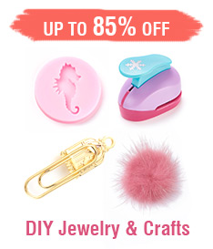 DIY Jewelry & Crafts Up to 85% OFF