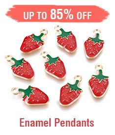 Enamel Pendants Up to 85% OFF