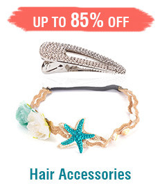 Hair Accessories Up to 85% OFF