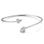 Adjustable 925 Sterling Silver Cuff Bangles