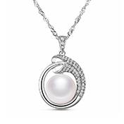 Simple Elegant Sterling Silver Necklace
