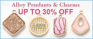 Alloy Pendants & Charms   Up to 30% OFF