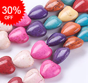 Synthetic Turquoise Beads Strands