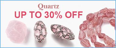 Quartz  Up to 30% OFF