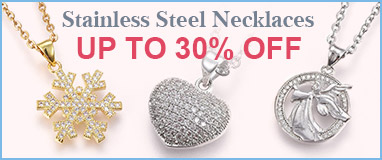 Stainless Steel Necklaces  Up to 30% OFF