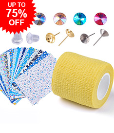 DIY Jewelry & Crafts Up to 75% OFF