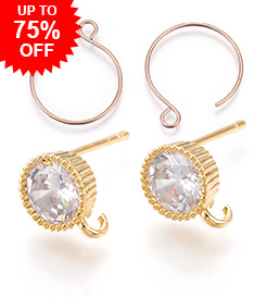 Earring Settings Up to 75% OFF