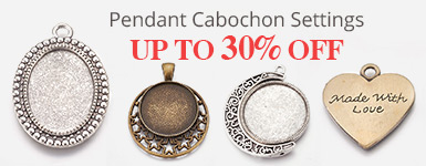 Pendant Cabochon Settings Up to 30% OFF