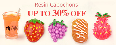 Resin Cabochons Up to 30% OFF