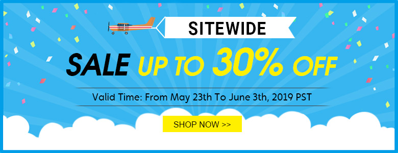 Sitewide Sale Up To 30% OFF