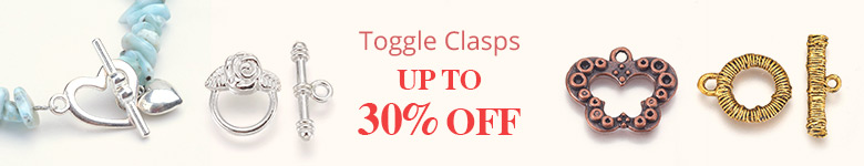 Toggle Clasps Up to 30% OFF