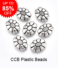 CCB Plastic Beads Up to 85% OFF
