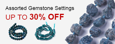 Assorted Gemstone Settings  Up to 30% OFF