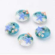 Ocean Style Handmade Lampwork Beads
