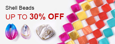 Shell Beads Up to 30% OFF