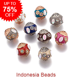 Indonesia Beads Up to 75% OFF