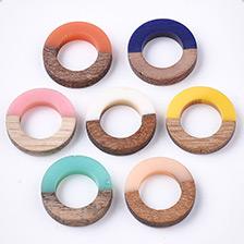 Resin & Wood Linking Rings