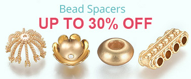 Bead Spacers Up to 30% OFF