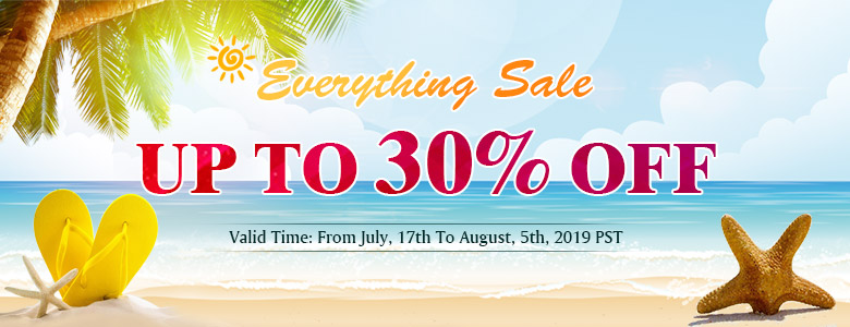 Everything Sale Up To 30% OFF
