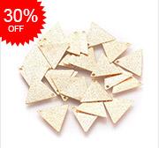 Triangle Brass Charms