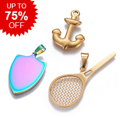 Stainless Steel Pendants Up to 75% OFF
