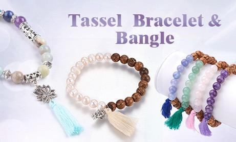 Tassel Bracelet & Bangle