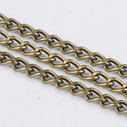 Iron Twisted Chains Curb Chains