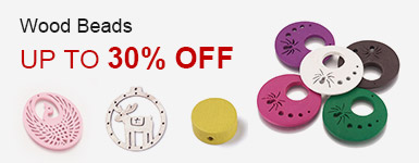 Wood Beads Up to 30% OFF