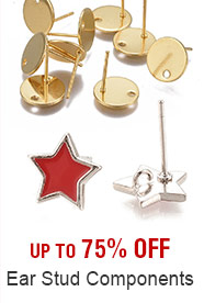 Ear Stud Components Up to 75% OFF
