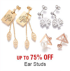 Ear Studs Up to 75% OFF