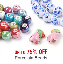 Porcelain Beads Up to 75% OFF