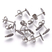 304 Stainless Steel Ear Stud Components