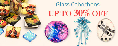 Glass Cabochons Up to 30% OFF