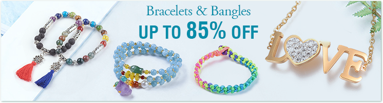 Bracelets & Bangles Up to 85% OFF