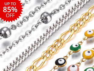 Stainless Steel ChainUp to 85% OFF