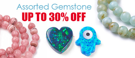 Assorted Gemstone  Up to 30% OFF