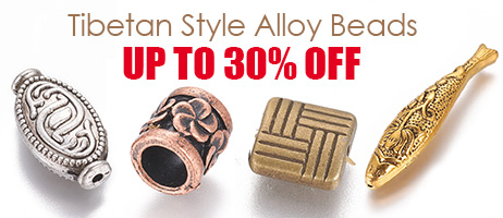 Tibetan Style Alloy Beads  Up to 30% OFF