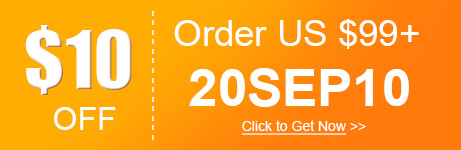 $10 OFF Order over US $99+ 20SEP10