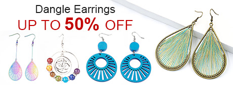 Dangle Earrings Up To 50% OFF