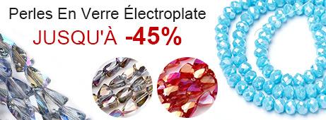 Perles En Verre Électroplate Jusqu'À -45%