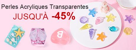 Perles Acryliques Transparentes Jusqu'À -45%