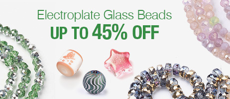 Electroplate Glass Beads  Up To 45% OFF