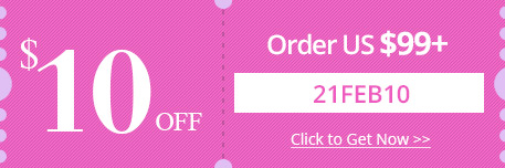 $10 OFF Order over US $99+